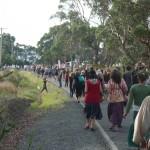 Prozession zum Strand