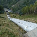auch hier wird die Wasserkraft genutzt