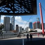 ...und das moderne Melbourne