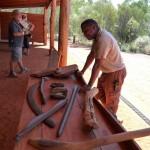 Werkzeuge der Aborigines