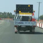 Australische Baustellenhilfe