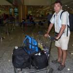 wir reisen mit kleinem Gepäck