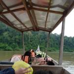 Fahrt mit dem Langboot