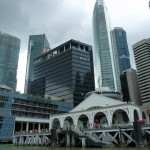 Abschied von Singapur