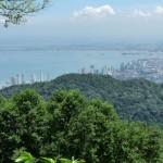 Blick über Penang