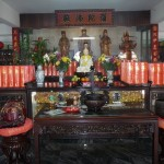 Tempelbesuch